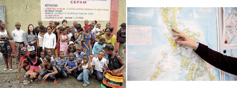 열악한 지역에서 몇 십 년간 어린이들에게 교육을 해온 NGO를 지원하게 돼서 보람 있었죠.
