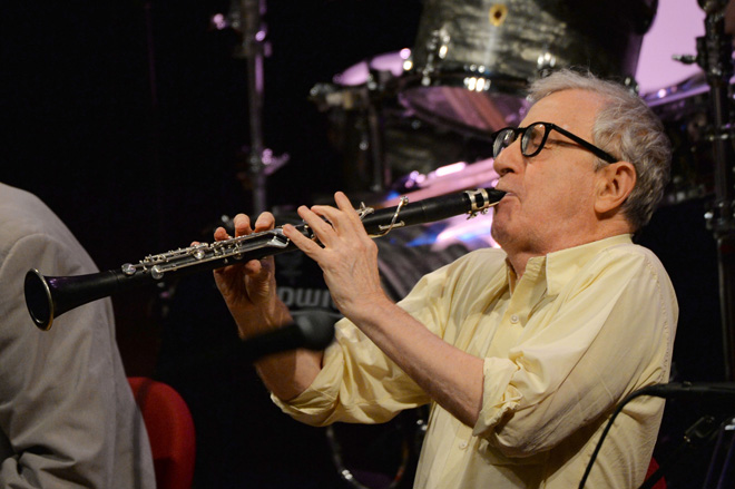 Woody Allen And His New Orleans Jazz Band, <Wild Man Blues>