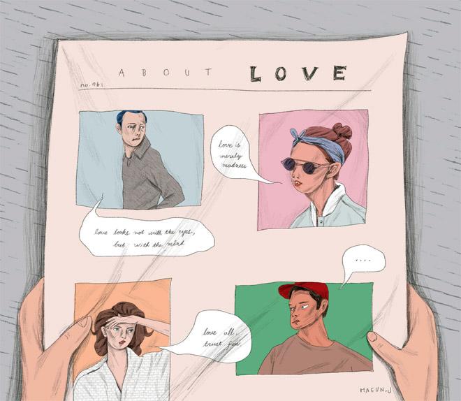 사랑의 불행은 서로 닮았지만, 사랑의 행복은 각자의 이유로 아름답다.