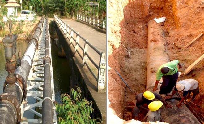 물이 부족한 스리랑카에서 사용할 수 있는 물 공급 시스템은 생명줄과 같다.