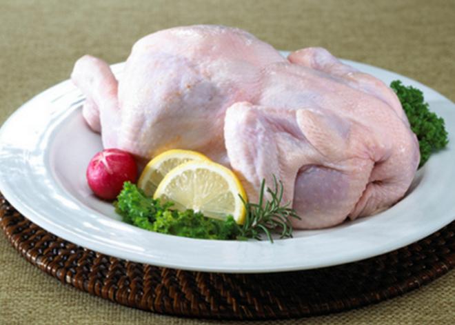 7. 치킨을 만들 었을 때 가장 맛있는 국내산 냉장육의 호수는?