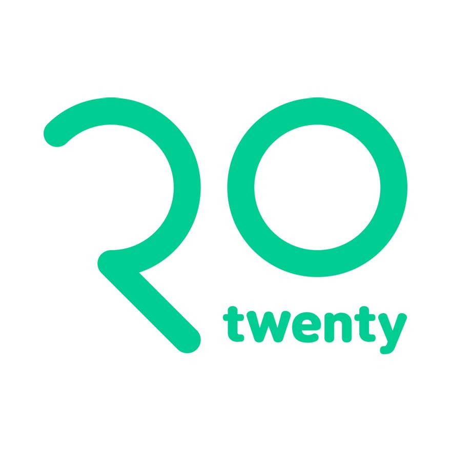 앱 스토어나 페이스북에 '트웬티'를 검색하면, 이런 로고를 찾을 수 있다.