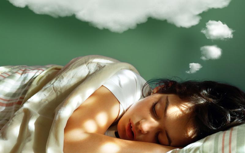 꿈꾸는 건 숙면하지 못한다는 증거다.