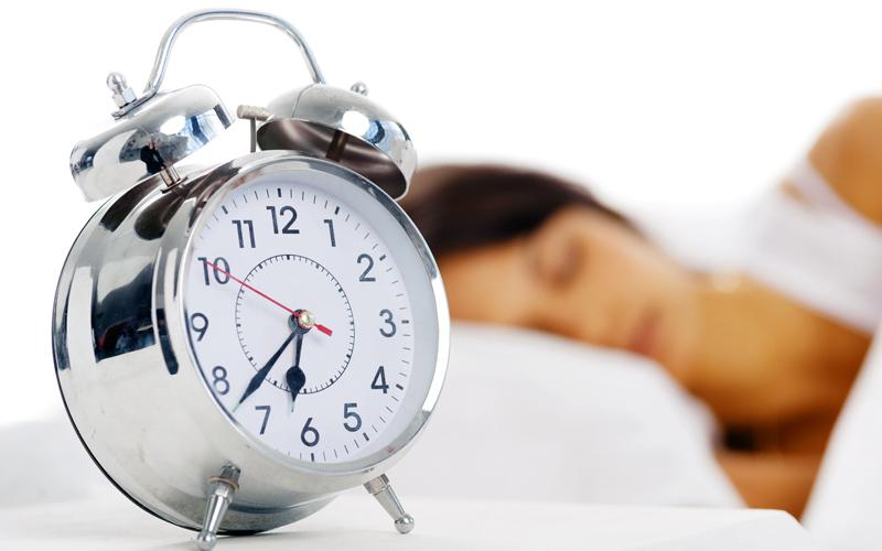 언제 잠들든 8시간 정도 잤으면 충분히 숙면한 것이다.